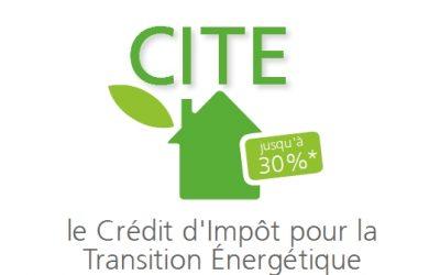 Crédit d'impôt 15% pour les rénovations énergétiques