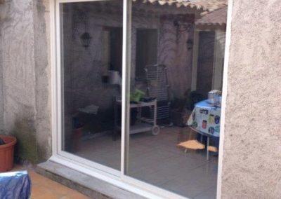 Remplacement d'une porte fenêtre Cavaillon