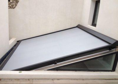 Store sur-mesures pour toit de véranda (4)