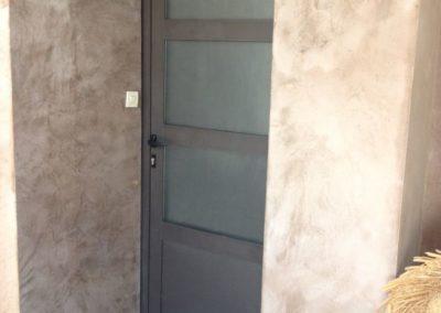 Remplacement de porte d'entrée