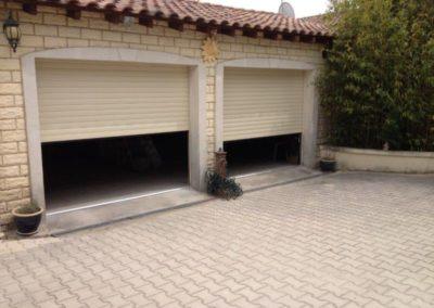 Portes de garages enroulables