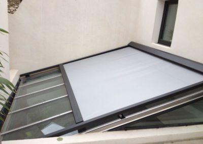 Store sur-mesures pour toit de véranda